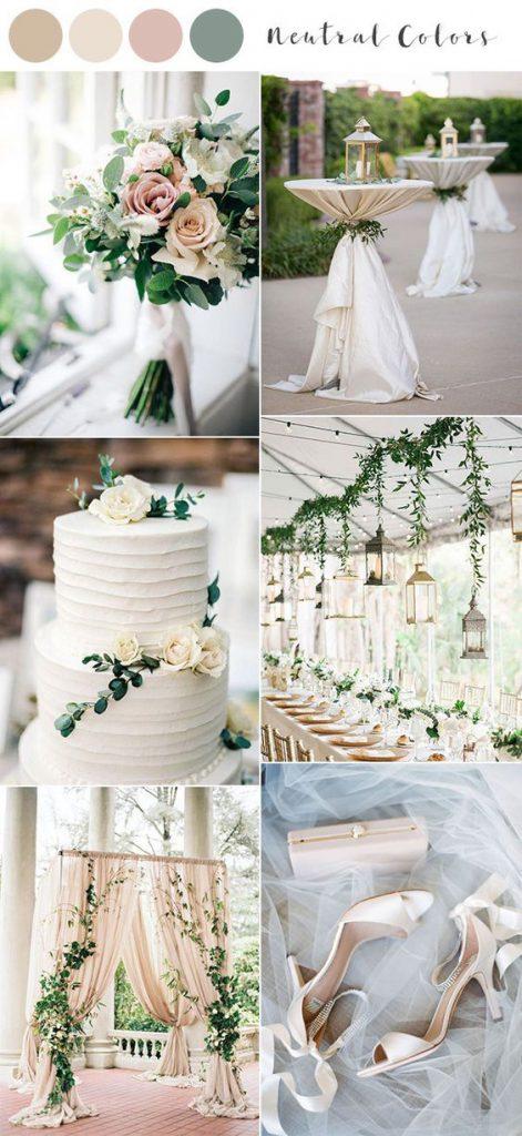 esküvői trendek 2020 esküvői színek